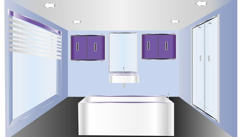 gfc Bathroom interior design - [Udemy] Bathroom interior design in illustrator and Photoshop