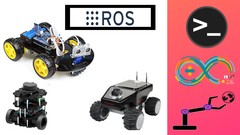 [Udemy] Mastering Mobile Robot with ROS : Ardunio car sensors to ROS