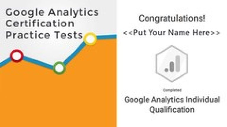 [Udemy] Google Analytics Certification Exam – Practice Q&A and Tests
