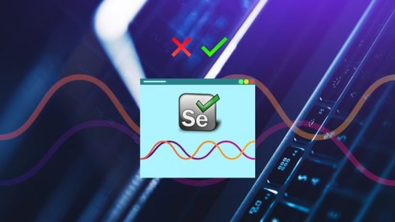 [Udemy] Getting Started With Test Automation Using Selenium
