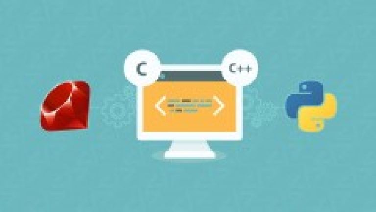 [Udemy] C, C++, Python and Ruby Programming