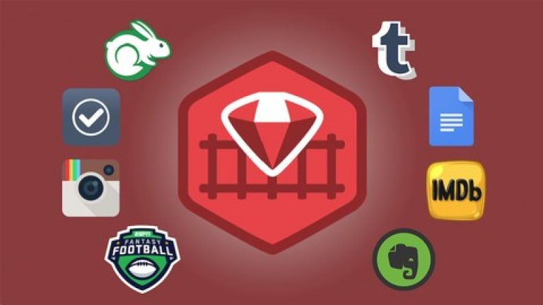 [Udemy] 8 Beautiful Ruby on Rails Apps in 30 Days & TDD – Immersive